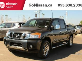 Used 2015 Nissan Titan SL: CREW CAB, LEATHER, SUNROOF! for sale in Edmonton, AB