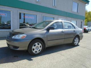 Used 2003 Toyota Corolla 4DR SDN CE AUTO for sale in Saint-jerome, QC