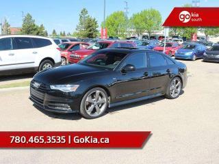 Used 2016 Audi A6 3.0T Technik! Black Optiks pckg.!!! FULL LOAD! 3.0L SUPERCHARGED V6!!! for sale in Edmonton, AB