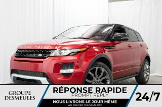 Used 2013 Land Rover Evoque Hayon 5 portes Dynamic Premium for sale in Laval, QC