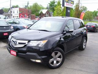 Used 2009 Acura MDX Tech pkg,Bluetooth,Backup Camera,sunroof,Navi,AWD for sale in Kitchener, ON