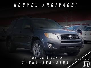 Used 2010 Toyota RAV4 4x4 Sport V6 3.5L + MAGS + TOIT OUVRANT for sale in St-Basile-le-Grand, QC