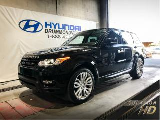 Used 2014 Land Rover Range Rover Sport SPORT SUPERCHARGED 5.0L + GARANTIE + TOI for sale in Drummondville, QC