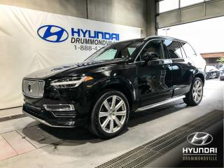 Used 2016 Volvo XC90 T6 INSCRIPTION AWD + NAVI + TOIT + CUIR for sale in Drummondville, QC