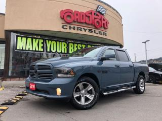 Used 2015 RAM 1500 SPORT NAVI P-ROOF HTD WHEEL RARE COLOR TONNEU CAM for sale in Scarborough, ON