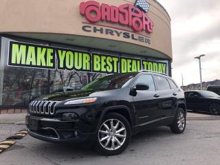 Used 2017 Jeep Cherokee Limited P-ROOF NAVI R-CAM HTED WHEEL for sale in Scarborough, ON