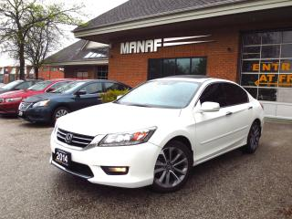 Used 2014 Honda Accord Touring Navi Leather Rear Cam Cert for sale in Concord, ON