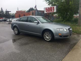 Used 2008 Audi A6 ONLY 350000K,3.2LONE OWNER,NO ACCIDENT,NAV,B/U CAM for sale in North York, ON