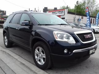 Used 2012 GMC Acadia SLE2 for sale in Scarborough, ON
