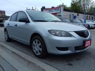 Used 2006 Mazda MAZDA3 GX for sale in Scarborough, ON