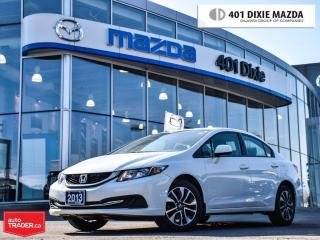 Used 2013 Honda Civic EX (A5),VERY LOW MILEAGE, REAR-VIEW CAMERA for sale in Mississauga, ON