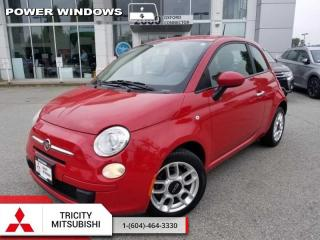 Used 2012 Fiat 500 Pop  -  Cruise Control for sale in Port Coquitlam, BC