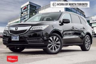 Used 2015 Acura MDX Navigation at Accident Free| Bluetooth| Blind Spot for sale in Thornhill, ON
