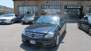 Used 2011 Mercedes-Benz C-Class C250 4MATIC/CLEAN CAR PROOF/SUNROOF/B UP SENSORS for sale in North York, ON