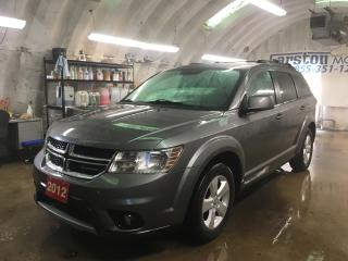 Used 2012 Dodge Journey SXT*KEYLESS ENTRY*PUSH BUTTON IGNITION*POWER WINDOWS/LOCKS/HEATED MIRRORS*DUAL ZONE CLIMATE CONTROL*TRACTION CONTROL*CRUISE CONTROL* for sale in Cambridge, ON