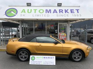 Used 2010 Ford Mustang V6 Convertible PREMIUM LEATHER! for sale in Langley, BC