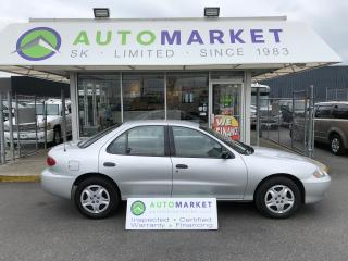 Used 2005 Chevrolet Cavalier WE CAN FINANCE ANYONE ON THIS CAR! for sale in Langley, BC