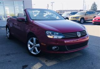 Used 2014 Volkswagen Eos Comfortline 2.0T 6sp for sale in Gatineau, QC