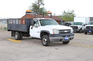 Used 2005 Chevrolet Silverado 3500 6.6L Diesel 12FT|OPEN SUNDAY 10-6 for sale in Brampton, ON
