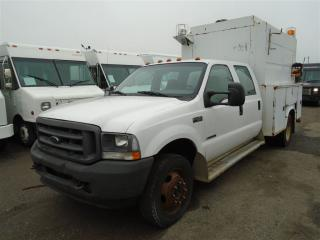 Used 2002 Ford F-450 service truck for sale in Mississauga, ON