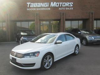 Used 2013 Volkswagen Passat COMFORTLINE| NO ACCIDENT | LEATHER| SUNROOF | CAMERA for sale in Mississauga, ON