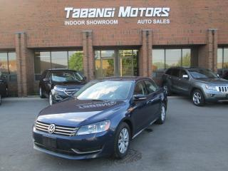 Used 2013 Volkswagen Passat NO ACCIDENT | HEATED SEATS | REAR CAMERA | BLUETOOTH for sale in Mississauga, ON