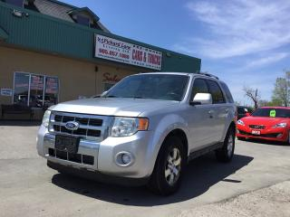 Used 2010 Ford Escape Limited for sale in Bolton, ON