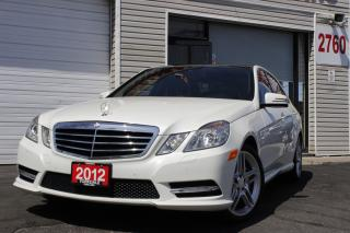 Used 2012 Mercedes-Benz E-Class Navi, Panoramic, Blind Spot, No Accidents for sale in North York, ON
