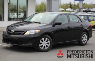 Used 2013 Toyota Corolla CE AUTO | HEATED SEATS | ONLY $48/WK TAX INC. $0 DOWN for sale in Fredericton, NB