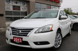Used 2013 Nissan Sentra 1.8 SV SL. Leather. Roof. Navi. Cam. Bose Sysem for sale in North York, ON