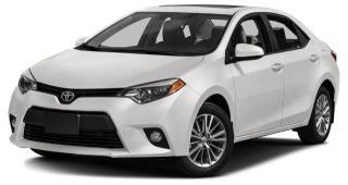 Used 2016 Toyota Corolla for sale in Brampton, ON