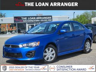 Used 2017 Mitsubishi Lancer for sale in Barrie, ON