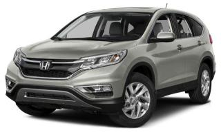 Used 2015 Honda CR-V EX Clean CarProof|Blind Spot Monitor|Bluetooth for sale in Pickering, ON
