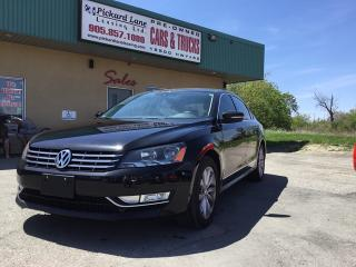 Used 2013 Volkswagen Passat 2.0 TDI Highline for sale in Bolton, ON
