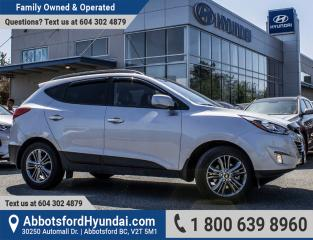 Used 2014 Hyundai Tucson GLS VERY LOW KILOMETRES & BC OWNED for sale in Abbotsford, BC
