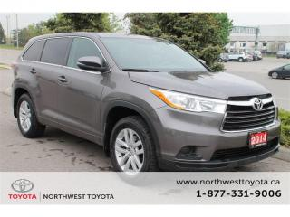 Used 2014 Toyota Highlander LE for sale in Brampton, ON