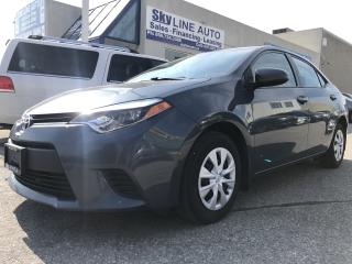 Used 2014 Toyota Corolla BLUETOOTH|REMOTE STARTER|KEYLESS ENTRY for sale in Concord, ON