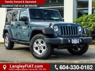Used 2015 Jeep Wrangler Unlimited Sport B.C OWNED! for sale in Surrey, BC