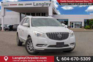Used 2017 Buick Enclave Leather <B>BLUETOOTH, SUNROOF, BACKUP CAMERA</B> for sale in Surrey, BC