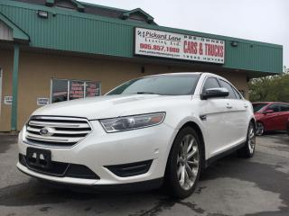 Used 2013 Ford Taurus LIMITED for sale in Bolton, ON