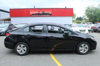 Used 2014 Honda Civic Sedan 4dr CVT LX for sale in Surrey, BC