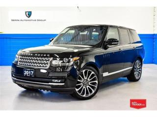 Used 2017 Land Rover Range Rover 5.0L V8 Supercharged Autobiography CONDITIONALLY SOLD for sale in Aurora, ON