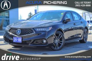 Used 2018 Acura TLX Tech A-Spec ONE OWNER|CLEAN CARPROOF|NAVIGATION for sale in Pickering, ON