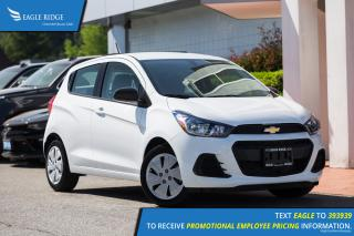 New 2018 Chevrolet Spark LS CVT A/C, Backup Camera, AUX/USB for sale in Port Coquitlam, BC