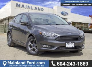 New 2018 Ford Focus SE for sale in Surrey, BC