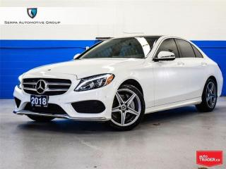 Used 2018 Mercedes-Benz C-Class for sale in Aurora, ON