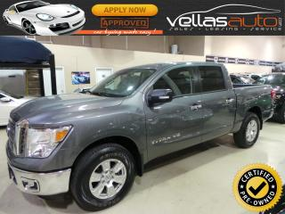 Used 2018 Nissan Titan SV| 4X4| CREW CAB| 5.6L V8 for sale in Vaughan, ON