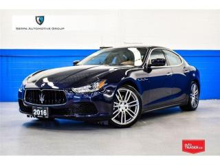 Used 2016 Maserati Ghibli S Q4 ** Up To 10% Value Savings On Select Pre Owned Units ** for sale in Aurora, ON