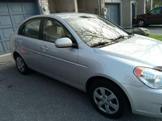 Used 2010 Hyundai Accent GL for sale in Pickering, ON