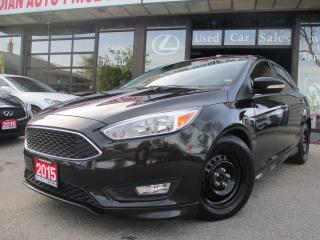 Used 2015 Ford Focus SE-BACK UP CAMERA-BLUETOOTH-HEATED for sale in Scarborough, ON